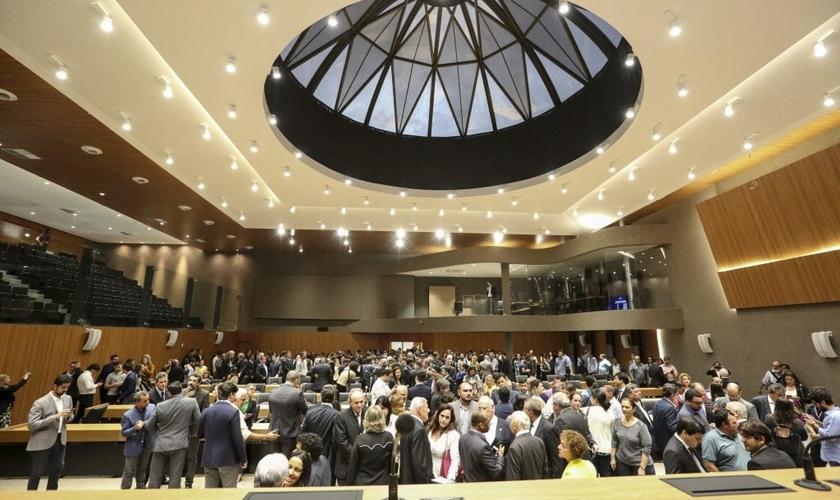 Plenário da Assembleia Legislativa de Pernambuco. (Foto: Reprodução / Alepe)