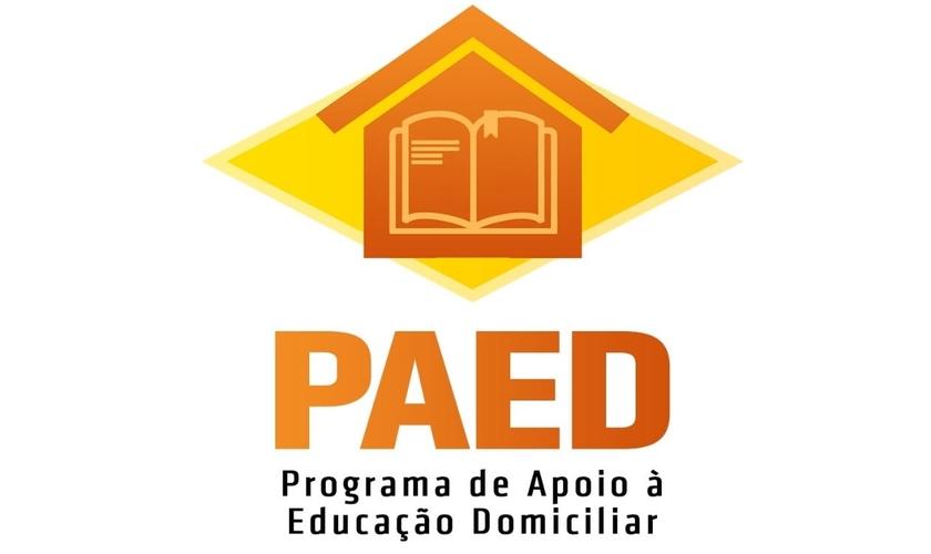 Logotipo do Programa de Apoio à Educação Domiciliar (PAED) . (Foto: Reprodução / ANAJURE)