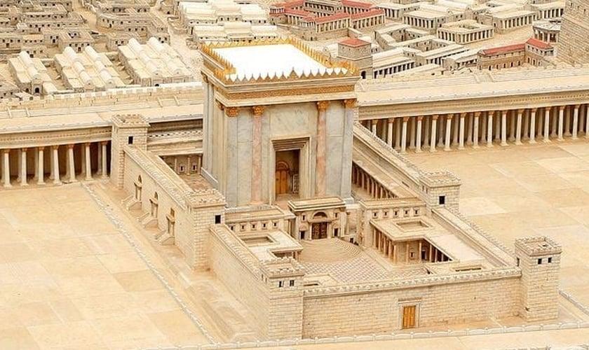 Templo de Herodes no Museu de Israel, Jerusalém. (Foto: Reprodução / Templar1307)