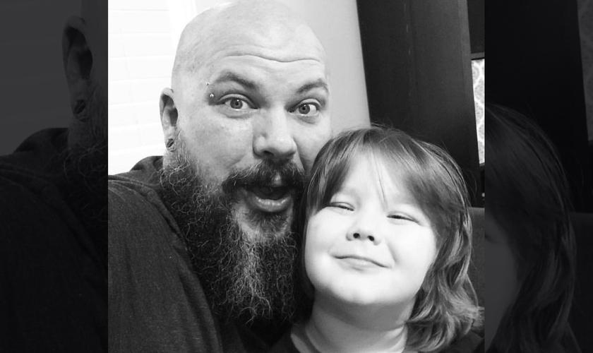 Andy Williams e sua filha. (Foto: Reprodução Instagram)