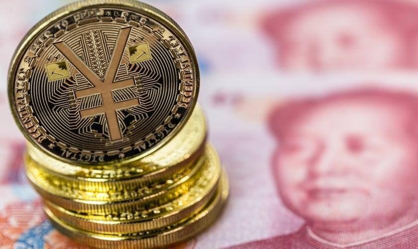 China planeja fazer seu grande respingo de moeda digital nos Jogos Olímpicos de Inverno de Pequim, em 2022. (Foto: Foto: RHJ/Shutterstock)