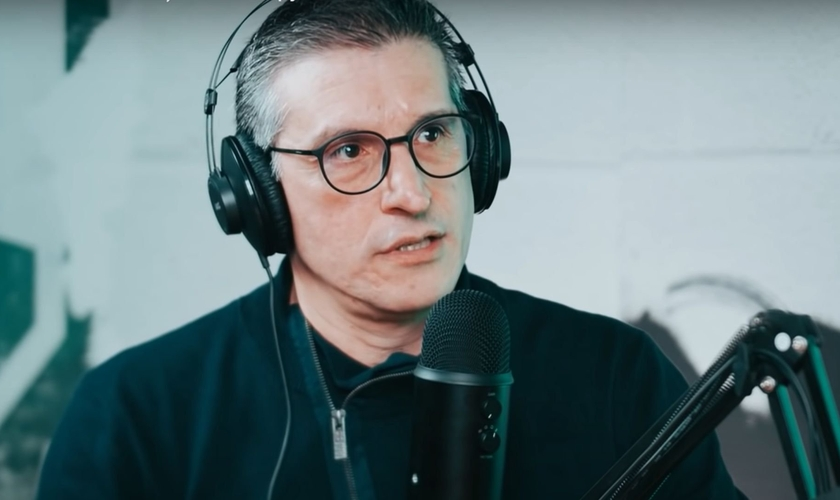 Pastor Zé Bruno em entrevista ao JesusCopy. (Foto: Reprodução/YouTube)