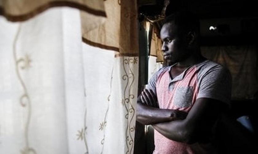 Kijwalo, de uma família de xeiques muçulmanos, sobreviveu ao ataque e está refugiado em um local seguro. (Foto: Imagem ilustrativa).