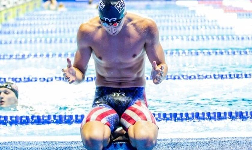 Desde a primeira semana das Olímpiadas, vários atletas já manifestaram sua fé cristã. (Foto: Swinswan).