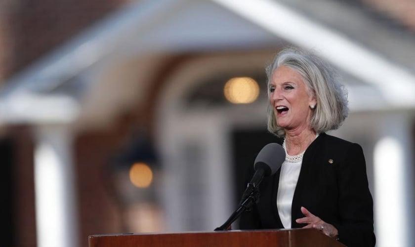 Evangelista Anne-Graham Lotz, filha do saudoso Billy Graham. (Foto: AP)