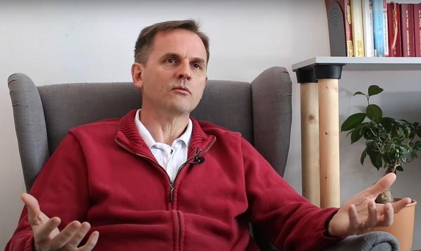 David Byle em entrevista à ADF International. (Foto: Print do vídeo/ADF International)