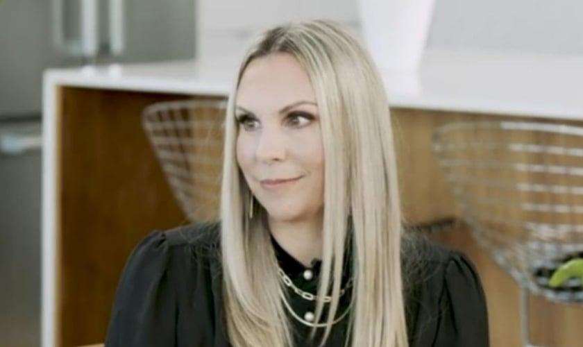 Holly Christine Hayes, fundadora do Projeto Santuário. (Foto: Reprodução/God TV)