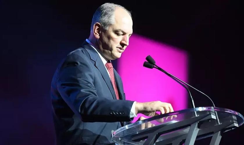 O governador da Louisiana, John Bel Edwards (Foto: Getty Images / Paras Griffin / Stringer)