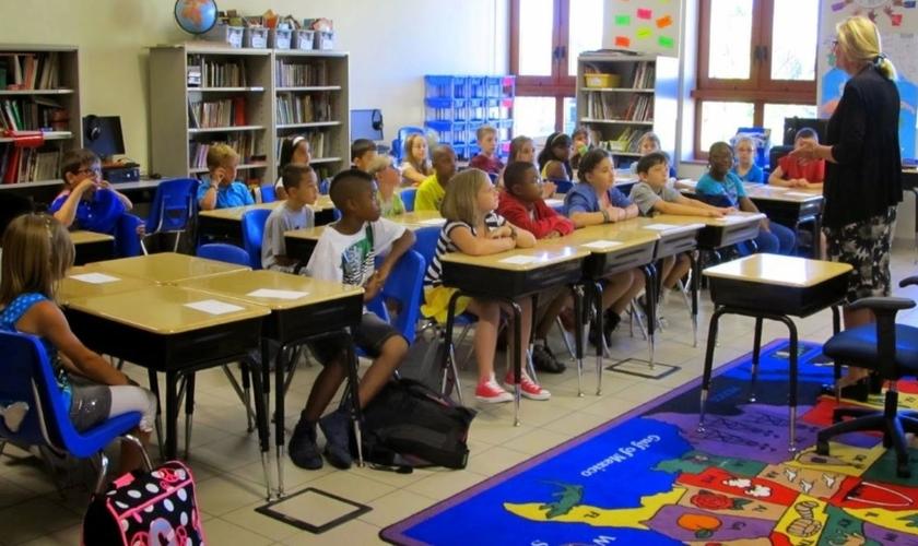 Escolas públicas de Atlanta promovem agenda progressista em salas de aula do jardim da infância. (Foto: Reprodução CBN News)