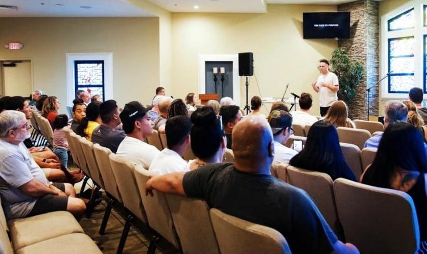 Igreja Batista do Sul, nos Estados Unidos. (Foto: Reprodução/CBN News)