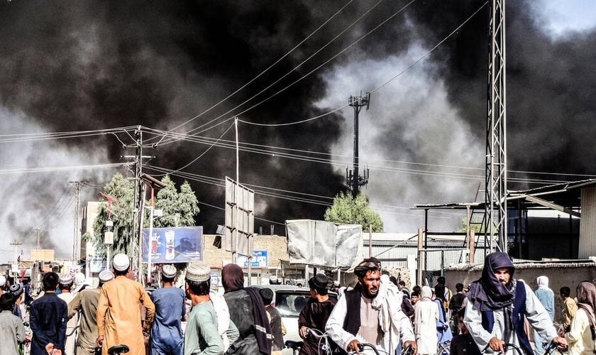 Alguns crentes afegãos estão determinados a permanecer para promover o Reino de Deus. (Foto: Sidiqullah Khan, AP).