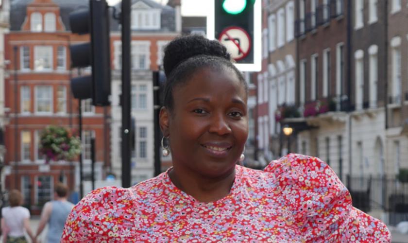 Hazel Lewis: 'Estou determinada a continuar pregando'. (Foto: Reprodução / Christian Legal Center)