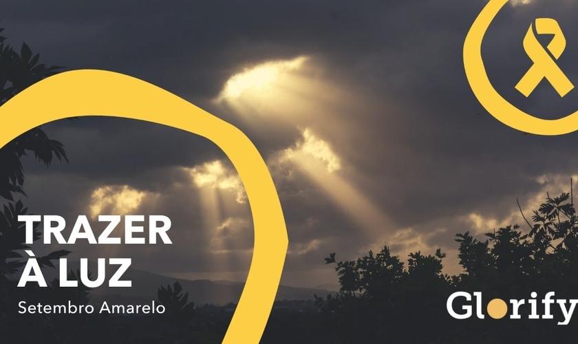 O aplicativo Glorify está engajado na campanha Setembro Amarelo. (Foto: Divulgação).