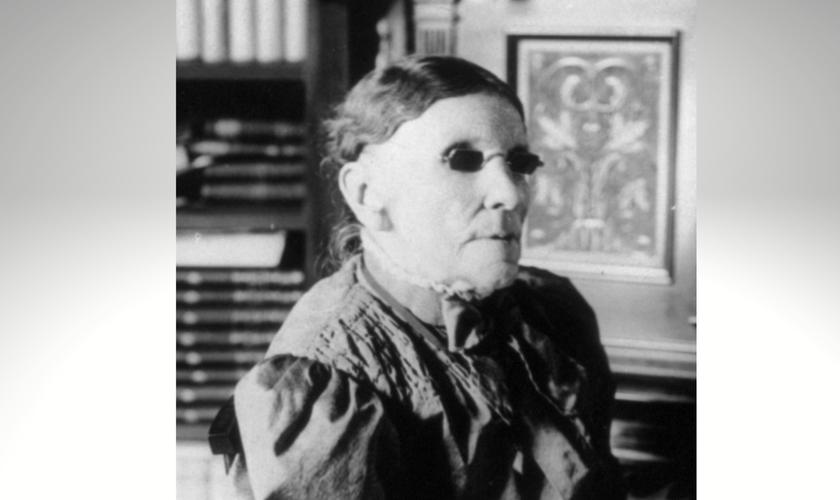 Fanny Crosby foi introduzida postumamente no Gospel Music Hall of Fame. (Foto: Reprodução / Pinterest)
