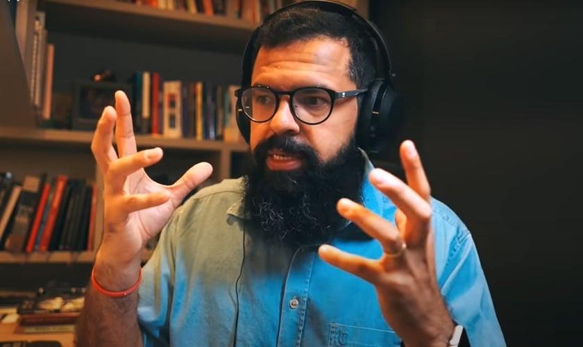 Douglas Gonçalves, líder do movimento JesusCopy. (Foto: Reprodução YouTube)