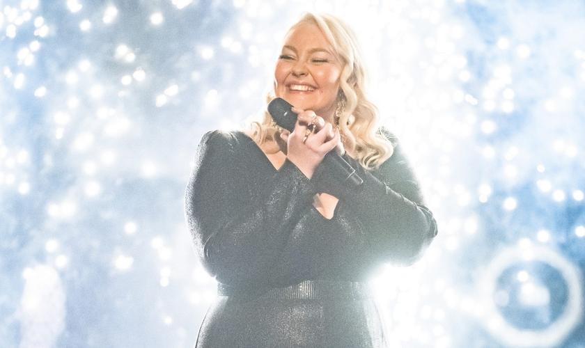 Bella Taylor Smith foi a vencedora do The Voice Australia 2021. (Foto: Reprodução).