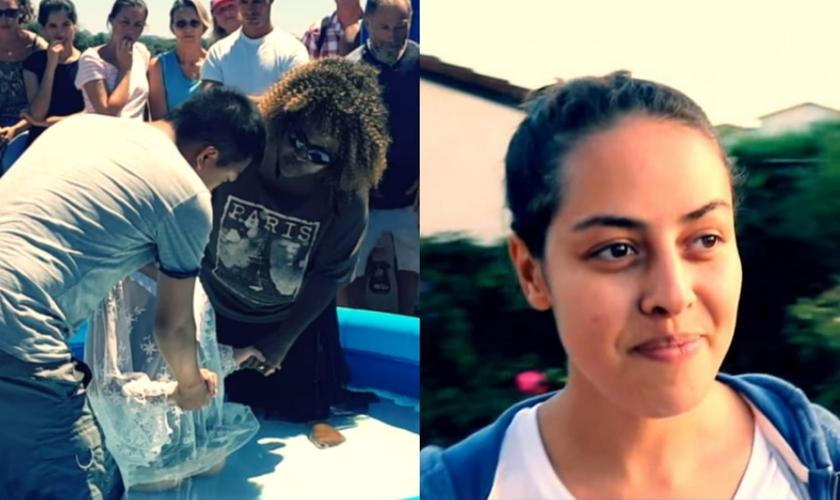 A ex-muçulmana Rita Chaima foi resgatada das trevas para a luz. (Foto: Reprodução/CBN News).