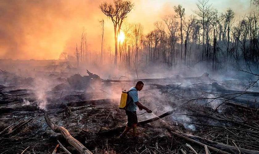 Líderes cristãos divulgaram uma carta conjunta a favor do combate às mudanças climáticas e o cuidado ao meio ambiente. (Foto: Victor Moriyama/Rainforest Foundation Norway).