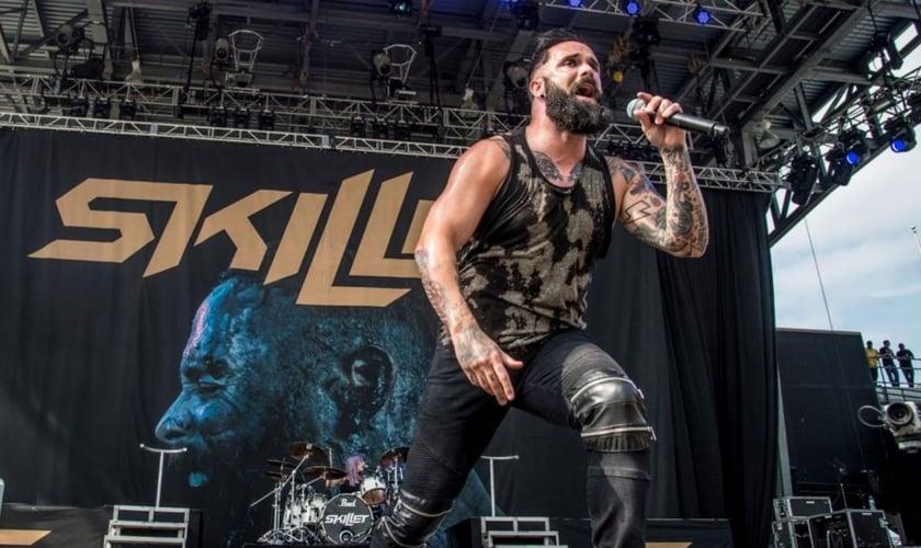 John Cooper, vocalista da banda Skillet. (Foto: Divulgação)