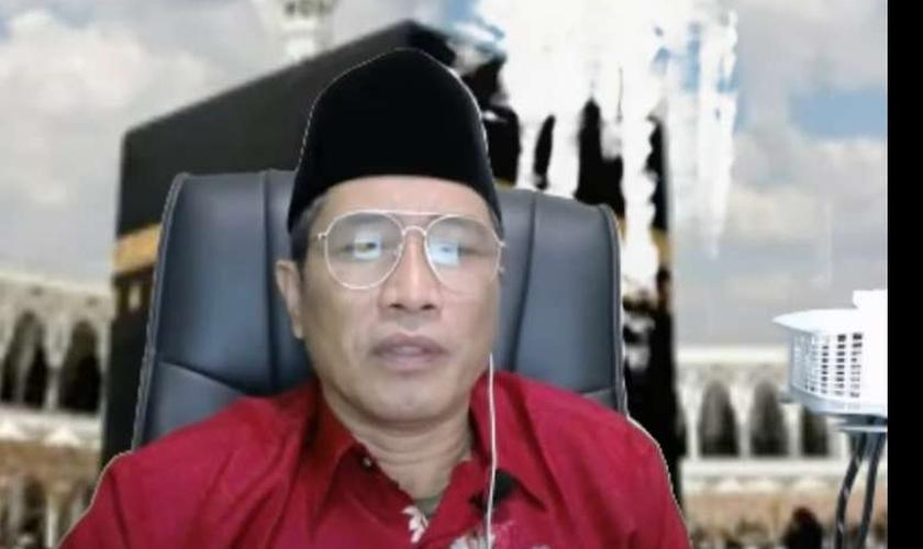 Muhammad Kace está preso desde agosto, sob acusação de suposta blasfêmia. (Foto: Reprodução/YouTube).