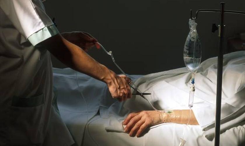 Imagem ilustrativa de suicídio assistido. (Foto: Getty Images)