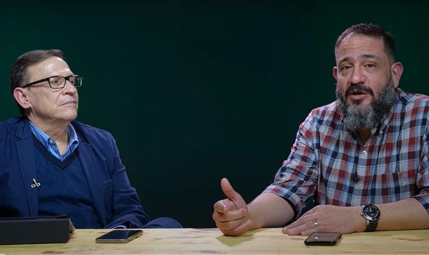 Pastor Abe Huber e pastor Luciano Subirá falando sobre o jejum. (Foto: Reprodução/YouTube)