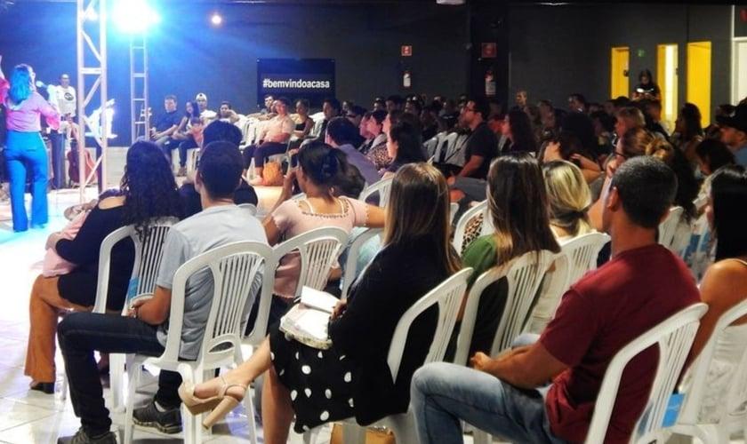 Culto presencial, Igreja Lagoinha Interlagos (Foto: Reprodução/Facebook).