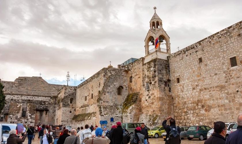 A Igreja da Natividade é um destino turístico popular entre os peregrinos cristãos que visitam a Terra Santa. (Foto: Laila Tours).