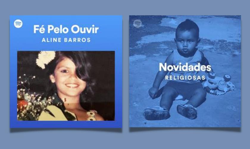 Aline Barros, Eli Soares e outros estão no projeto. (Foto: Divulgação/Spotify)