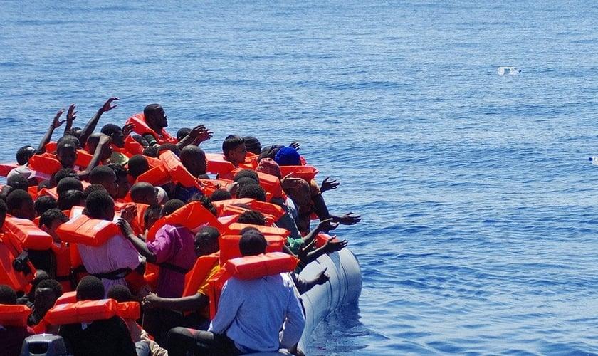 As vítimas de afogamento morreram durante uma travessia do Mar Mediterrâneo, que aconteceu na semana passada. (Foto: Mais)