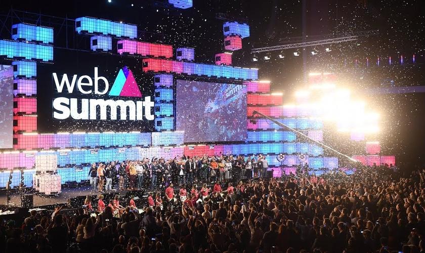O Web Summit é um dos maiores eventos de tecnologia do mundo. (Foto: Web Summit)