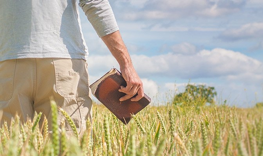 O pastor Joel Engel falou sobre o pacto da prosperidade de Deus. (Foto: Reprodução)