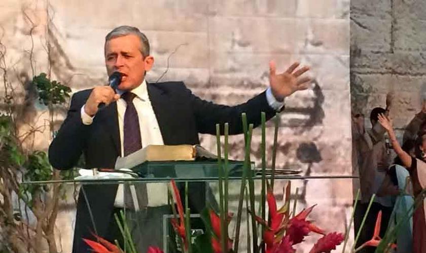 Pastor Jonas Júnior, fundador do Ministério Internacional Belém, no Rio Grande do Norte. (Foto: Reprodução)