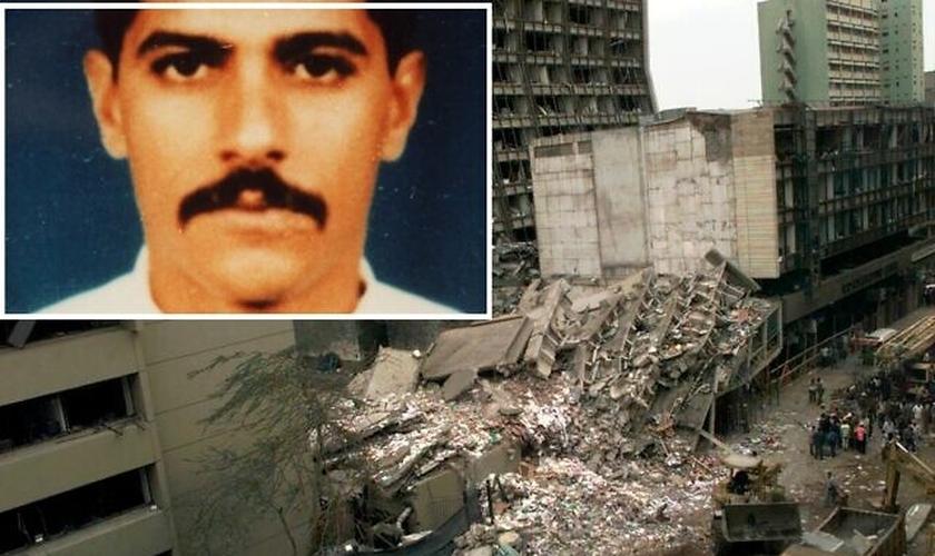 Al-Masri, um dos membros fundadores da Al Qaeda, foi acusado nos Estados Unidos pelos atentados mortais de 1998 contra as embaixadas dos EUA no Quênia e na Tanzânia, que deixaram 224 mortos e centenas de feridos. (Imagem: FBI.gov / Reprodução)