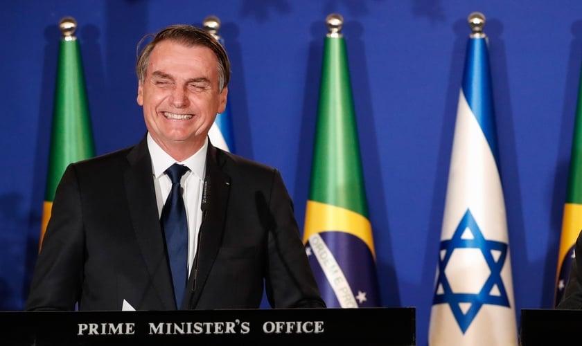 Presidente Jair Bolsonaro e o então primeiro-ministro de Israel, Benjamin Netanyahu. (Foto: Alan Santos/PR)