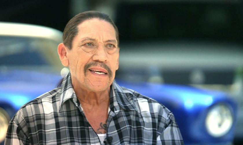 Danny Trejo teve uma vida difícil antes de chegar a Hollywood. (Foto: CBS)