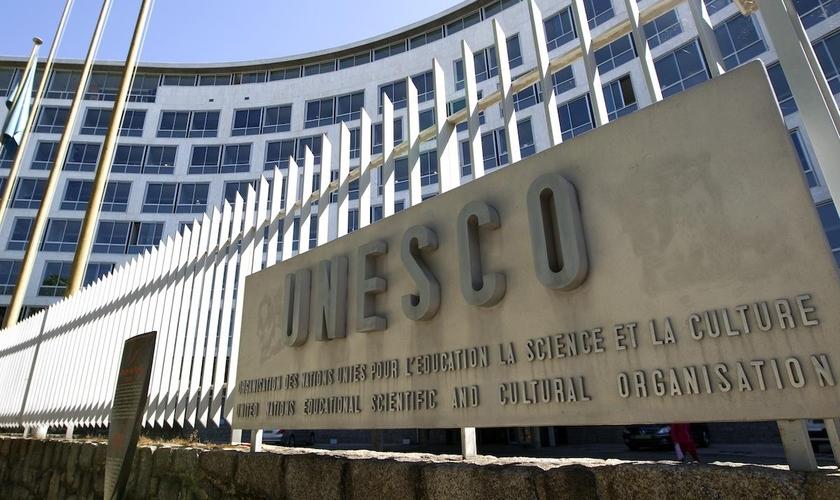Sede da Organização das Nações Unidas para a Educação, a Ciência e a Cultura (Unesco) em Paris. (Foto: Reuters)