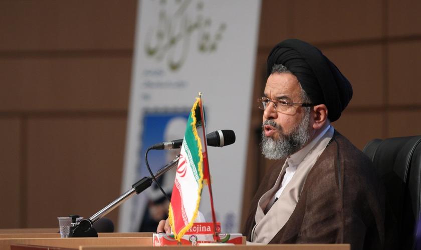 Ministro da Inteligência do Irã, Mahmoud Alavi, admitiu que o cristianismo está se espalhando no país. (Foto: Mostafa Meraji)