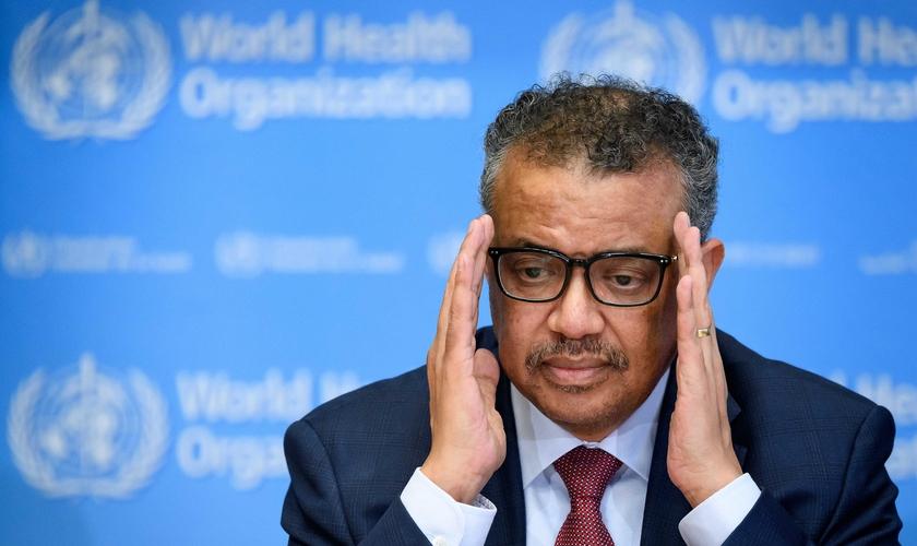 Tedros Adhanom Ghebreyesus é o diretor-geral da OMS. (Foto: AFP)