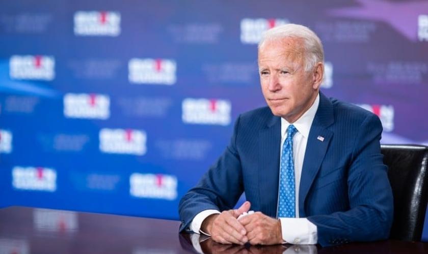 O democrata Joe Biden pretende retomar o financiamento federal para redes de clínicas de aborto nos EUA. (Foto: Biden for President/Adam Schultz)