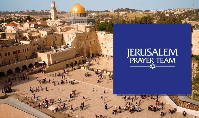A página Jerusalem Prayer Team foi retirada do ar pelo Facebook. (Foto: Montagem Guiame)