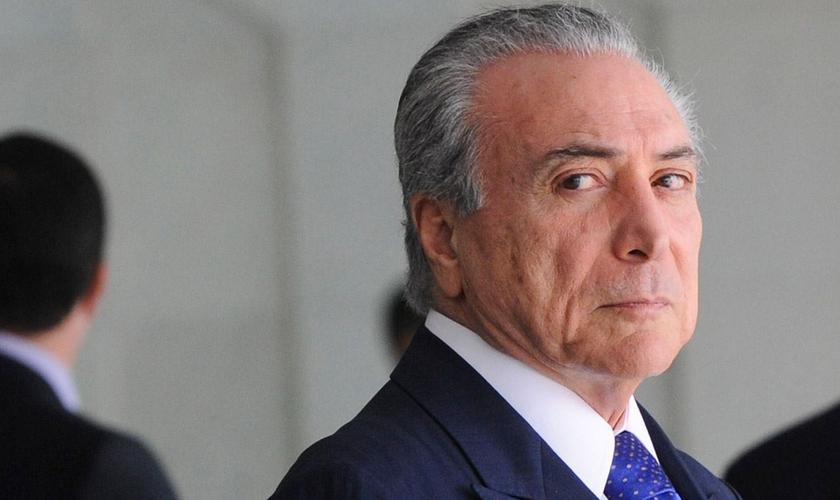 Michel Temer teria aprovado a compra do silêncio de Eduardo Cunha. (Foto: Diego DEAA/WikiCommons)