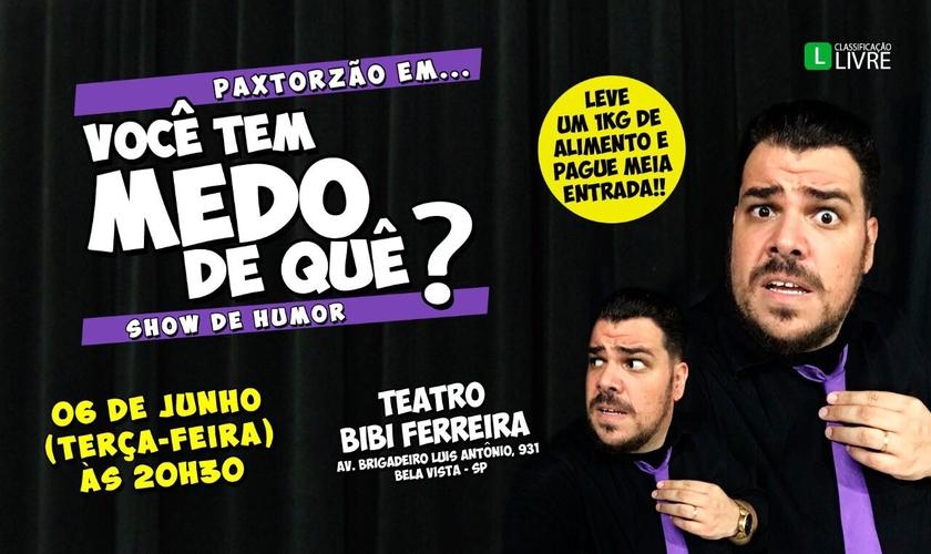gospel, Paxtorzão, show, são paulo, 2017