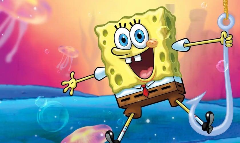 Nickelodeon inclui Bob Esponja na lista de personagens LGBT. (Foto: Nickelodeon)