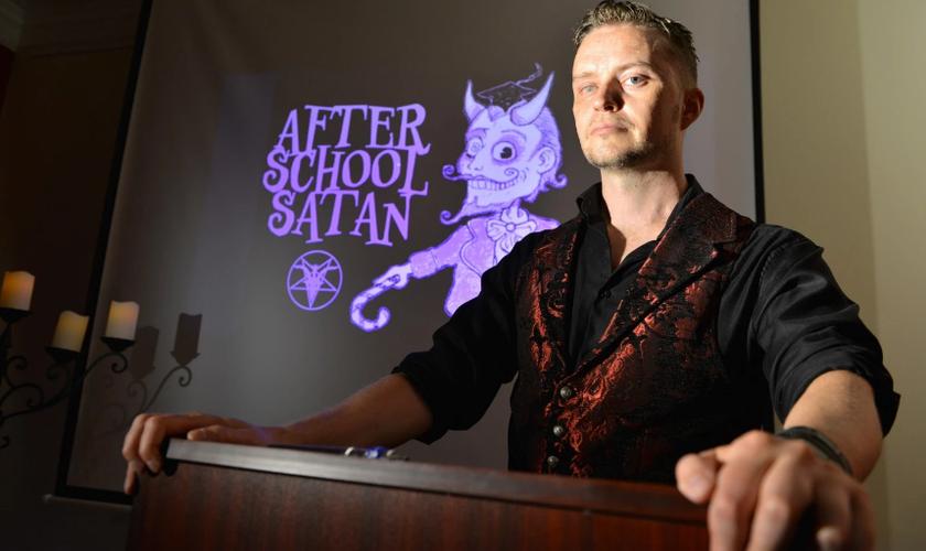 O Templo Satânico foi fundado com a participação de Doug Mesner, também conhecido como Lucien Greaves. (Foto: Josh Reynolds/The Washington Post)