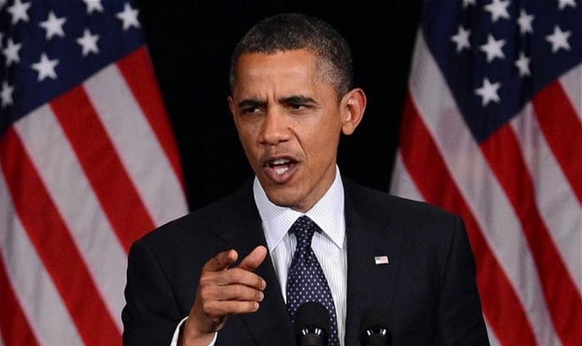 Barack Obama afirmou apoio à independência palestina na quinta-feira (14).