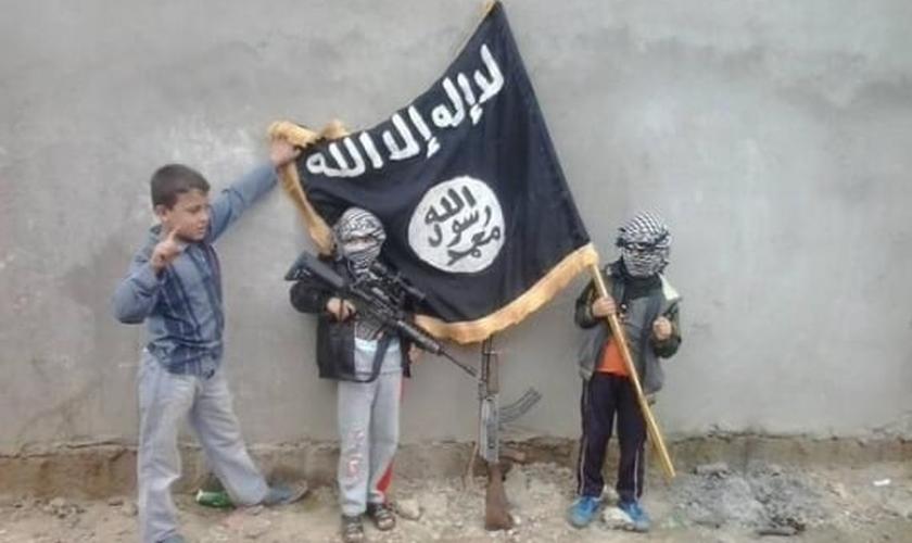 Estado Islâmico_crianças