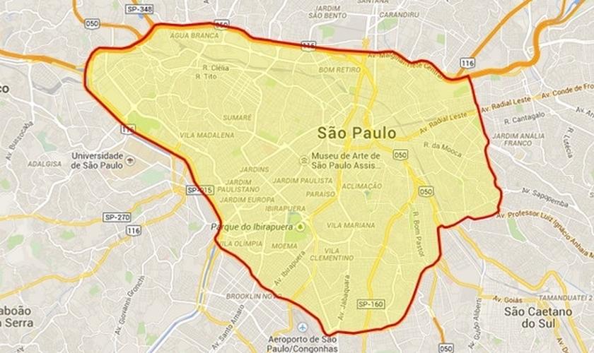 Rodízio em São Paulo