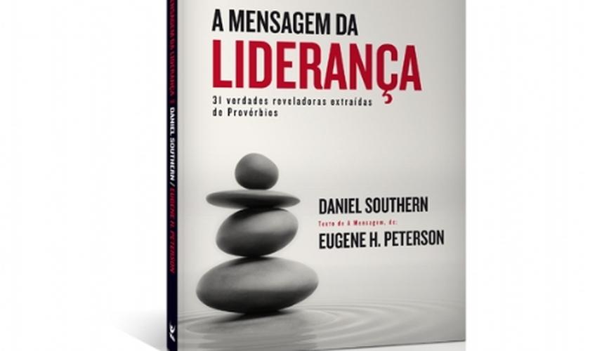 capa do livro A mensagem da liderança