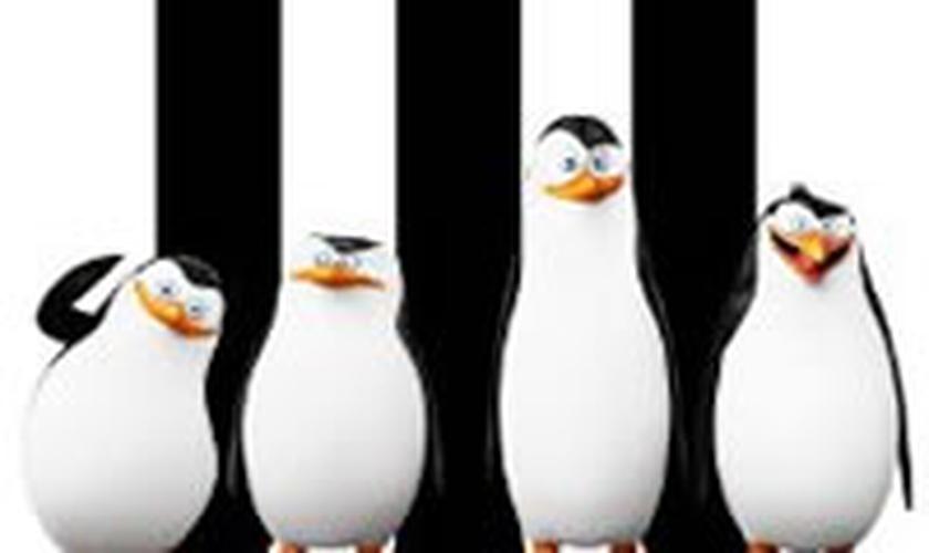 capa do filme Os Pinguins de Madagascar